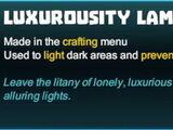 Luxurousity Lamp