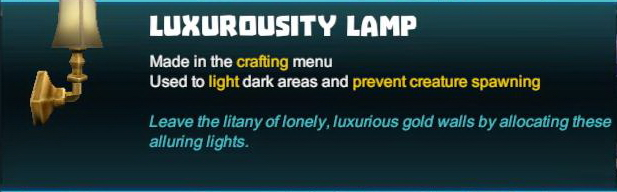 Luxurousity Lamp