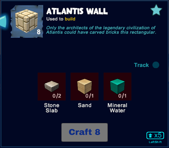 Atlantis Wall