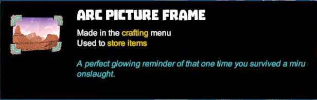 Arc Picture Frame