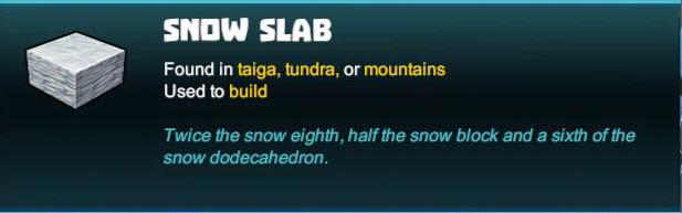 Snow Slab