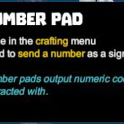 Number Pad
