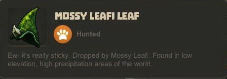Mossy Leafi Leaf