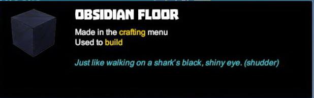 Obsidian Floor
