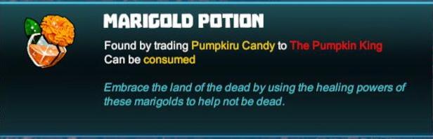 Marigold Potion