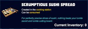 Scrumptious sushi spread desc.png
