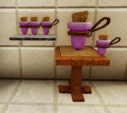 Springheel potion placemat