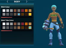 Creativerse ugly leafi turtleneck sweater and arms brown-yellow 2018-12-21 00-25-01-10.jpg