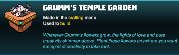 Grumm's Temple Garden