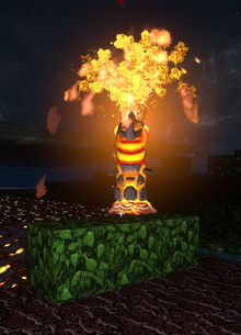 Creativerse warmworm fountain does not set flammable blocks on fire not even on hot biomes 2018-01-27 03-14-31-05.jpg
