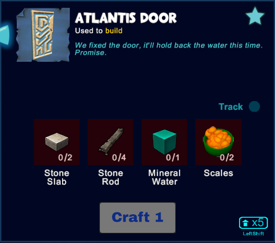 Atlantis Door