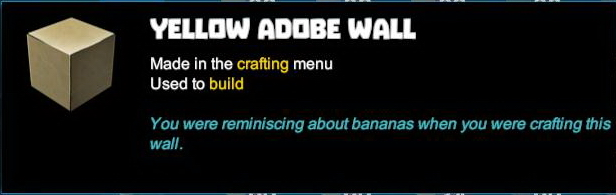 Yellow Adobe Wall
