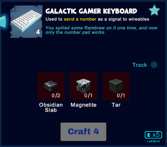 Galactic Gamer Keyboard