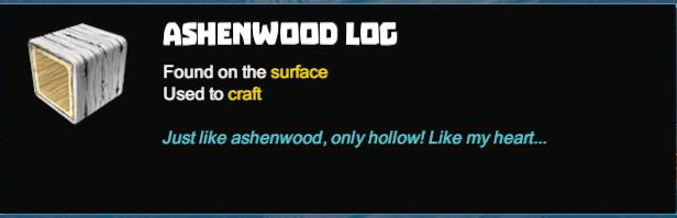Ashenwood Log