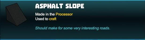 Asphalt Slope