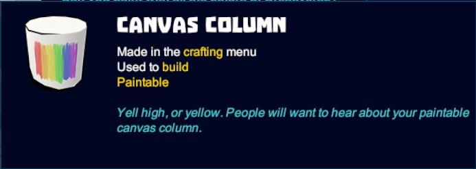 Canvas Column