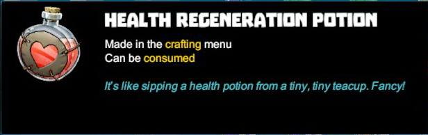 Health Regeneration Potion