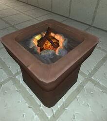 Creativerse flower pot with campfire 2017-08-08.jpg