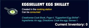 Eggsellent egg skillet desc.png
