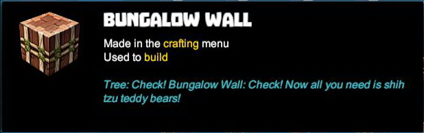 Bungalow Wall
