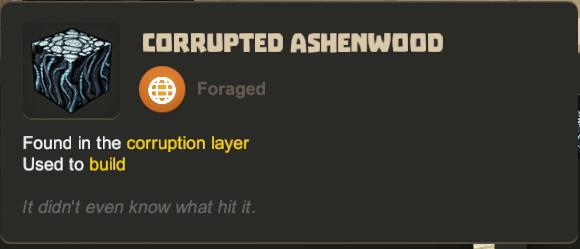 Corrupted Ashenwood