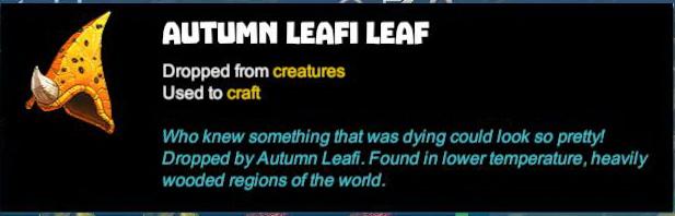 Autumn Leafi Leaf
