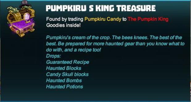 Pumpkiru's King Treasure