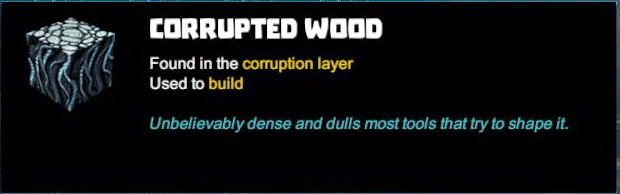 Corrupted Wood