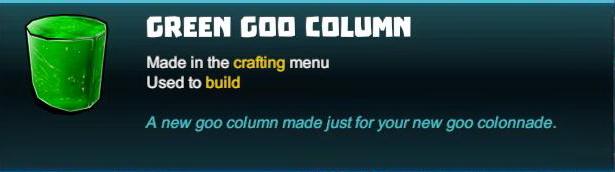 Green Goo Column