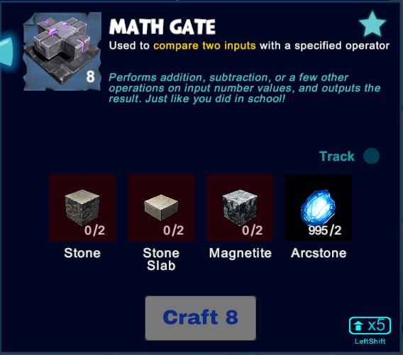 Math Gate