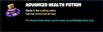 Creativerse R41 tooltip Advanced Health Potion001.jpg