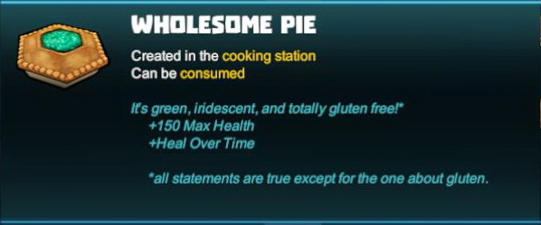 Wholesome Pie