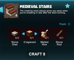 Creativerse R41 crafting recipes colossal castle medieval stairs01.jpg