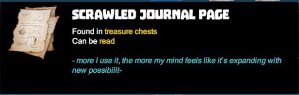 Scrawled Journal Page