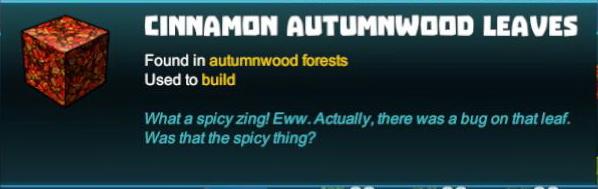 Cinnamon Autumnwood Leaves