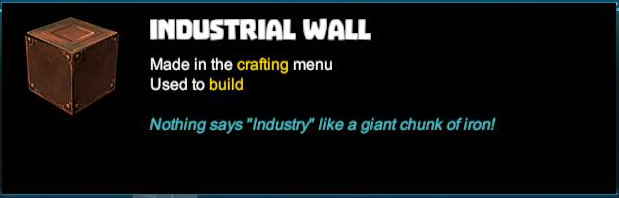 Industrial Wall