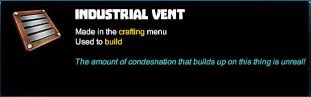 Industrial Vent