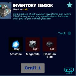 Inventory Sensor