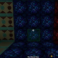 Creativerse Shop Blue Stained Glass night2984.jpg