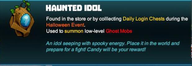 Haunted Idol