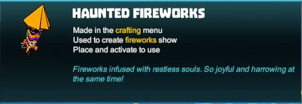 Haunted Fireworks