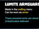 Lumite Armguards