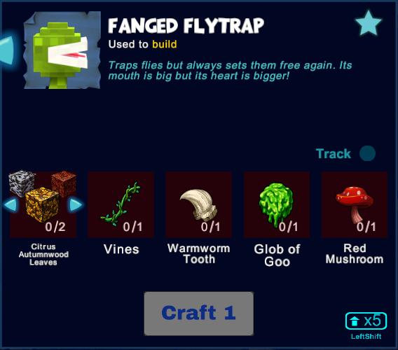 Fanged Flytrap