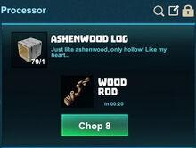 Creativerse processing ashenwood log 2017-08-15 18-59-05-83.jpg