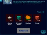 Atlantis Symbol Trim Wall