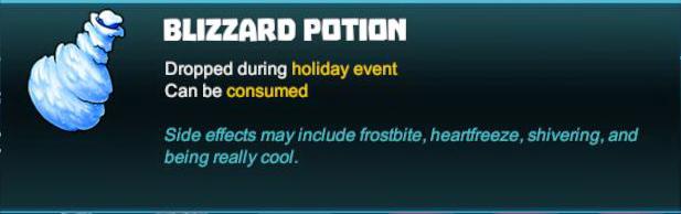 Blizzard Potion