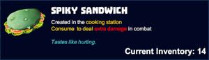 Spiky sandwich desc.png