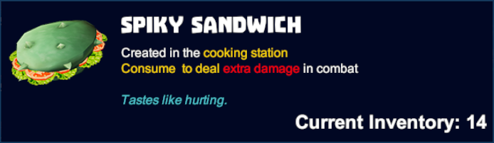 Spiky Sandwich