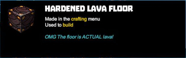 Hardened Lava Floor