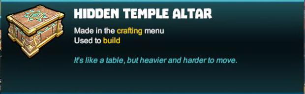 Hidden Temple Altar